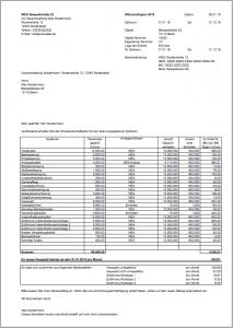 Excel-Vorlage Wirtschaftsplan